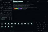 Leer Noticia - eDEX-UI: una terminal para Windows, Linux y macOS que parece sacada de una película de ciencia ficción sobre hackers