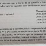 Leer Noticia - Primer cliente de Movistar identificado por hacer descargas al que se le exigen 400 € por compartir una serie